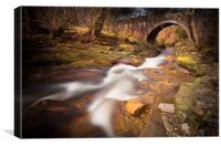 Cumbrian Flow, Canvas Print