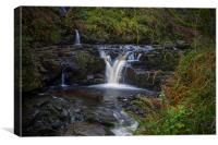 Glenariff Nature Reserve Waterfalls, Canvas Print