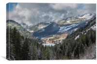 Chatel, Canvas Print