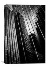 Dark Towers, Canvas Print