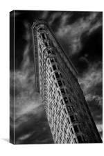 Flat Iron, Canvas Print