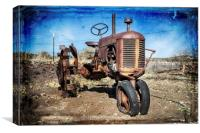 Old Style Case, Canvas Print