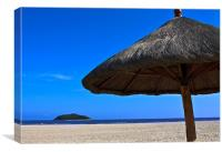 Empty Malaysia Beach
