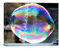 Big Bubble 2, Canvas Print
