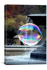 Big Bubble 1, Canvas Print