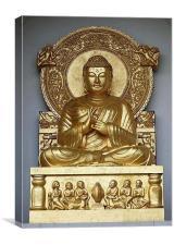 Buddah, Canvas Print