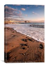Sunrise, Cromer, Canvas Print