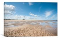Far as the eye can see, Holkham to Burnham Overy, Canvas Print