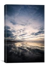 Reflections at Holkham, Canvas Print