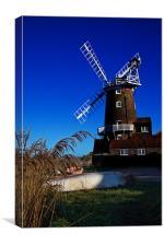 Cley Windmill, Canvas Print
