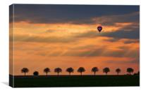 Up and Away!, Canvas Print