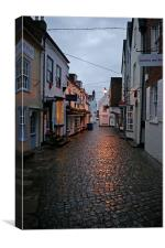 Cobbled Streets, Canvas Print