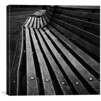 Windsor Bench, Canvas Print