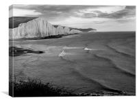 seven sisters , Canvas Print