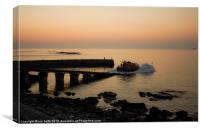 lifeboat launch sennen, cornwall
