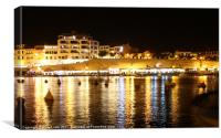Cala Fonts, Menorca, Canvas Print