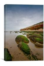Hunstanton Cliff, Canvas Print