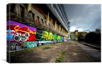 Urban Decay, Canvas Print