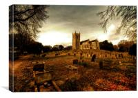 Holkham Church Norfolk, Canvas Print