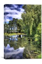 River Wensum, Norfolk, Canvas Print