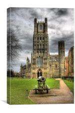 ELY CATHEDRAL HDR, Canvas Print