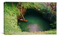 To Sua Ocean Trench, Canvas Print