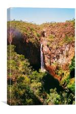 Sopoaga Waterfall, Canvas Print