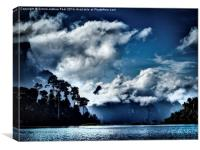 Clouds of Khao Sok, Canvas Print