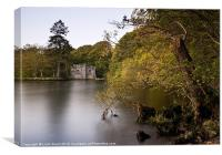 Boathouse at Low Wray, Lake Windermere, Lake Distr, Canvas Print