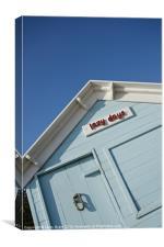 Beach hut. Wells-next-the-sea, Canvas Print