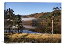 Low mist and reflections. Thirlmere Reservoir.