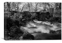 Hafodgwenllian, Lledr Valley, Snowdonia, Wales, Canvas Print