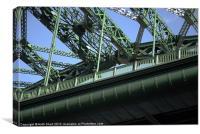 Wear Bridge, Canvas Print