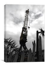 Cranes, Canvas Print
