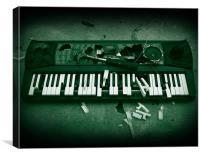 Destruction of Music, Canvas Print