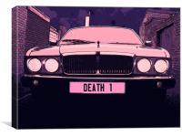 Death 1, Canvas Print