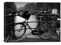 Bike, Canvas Print