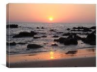 Koh Lanta Sunset, Canvas Print
