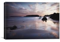 MARLOES SANDS #2, Canvas Print