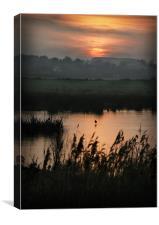NORFOLK SUNSET, Canvas Print