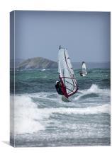 WIND SURFERS, Canvas Print