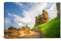 Scarborough Castle, Canvas Print