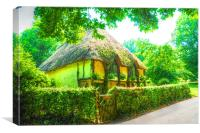 Country Cottage, Canvas Print