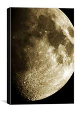 The Moon, Canvas Print