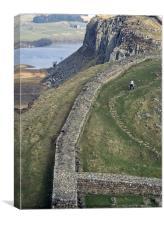 Hadrians Wall, Canvas Print