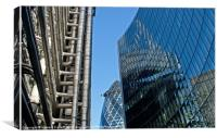 City of London Architecture, Canvas Print