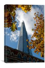 Autumnal Shard, Canvas Print