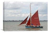 Sailing Smack Marigold, Canvas Print