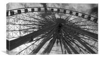 Echo Wheel of Liverpool, Canvas Print