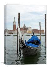 Venice gondola, Canvas Print